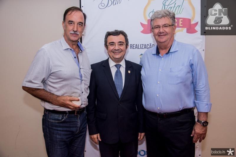 Armando Abreu, Ricardo Valente e Carlos Maia