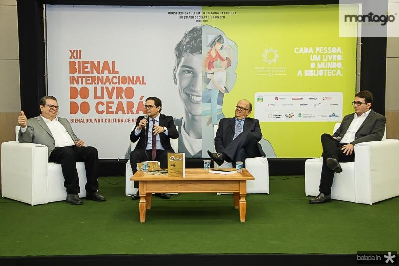 Alexandre Figueiredo, Edilberto Pontes, Fernando Ximenes e Gustavo Pessoa