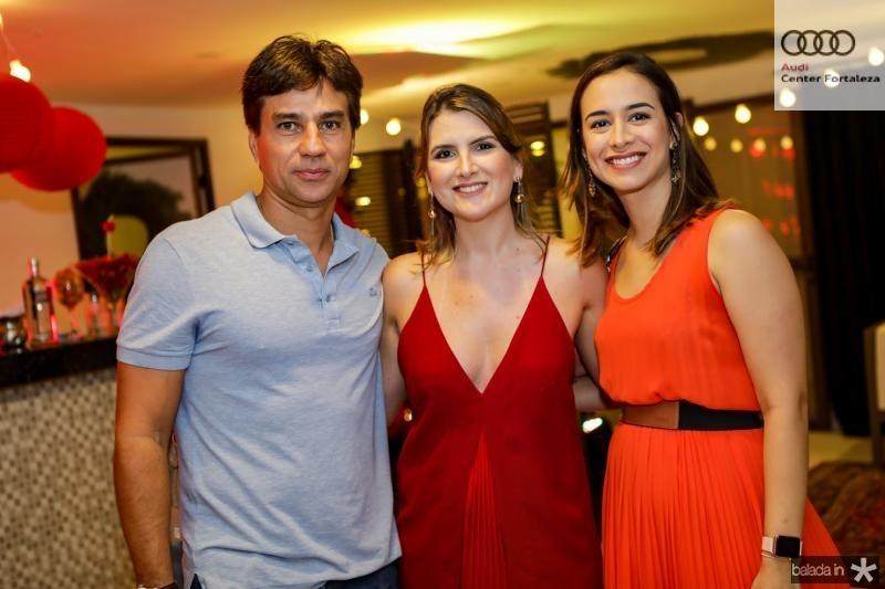 Alexandre Franco, Carolina Pessoa e Luana Oswald
