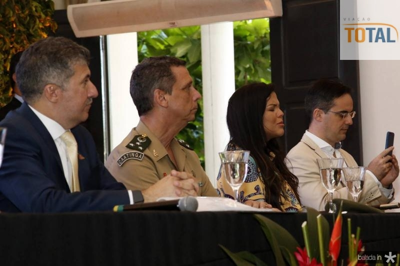 Antonio Henrique, General Cunha Matos, Priscila Costa e Capitao Wagner
