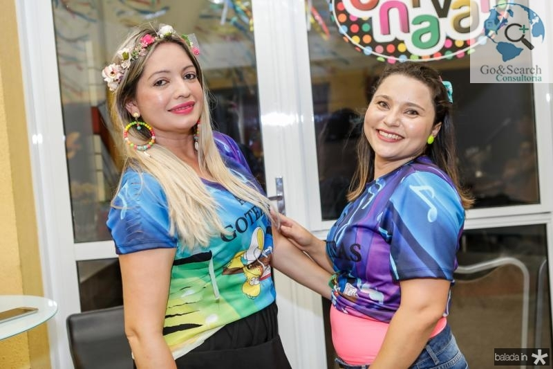 Kelly Lima e Tatiane Costa