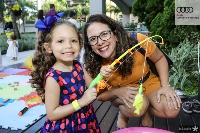 Maria Luiza e Eliane Tavares