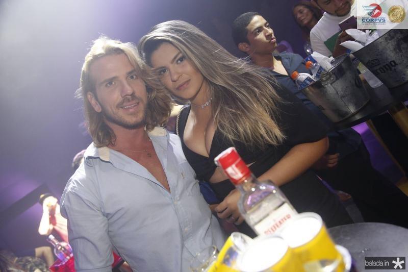 Alexandro Machado e Ana Reis