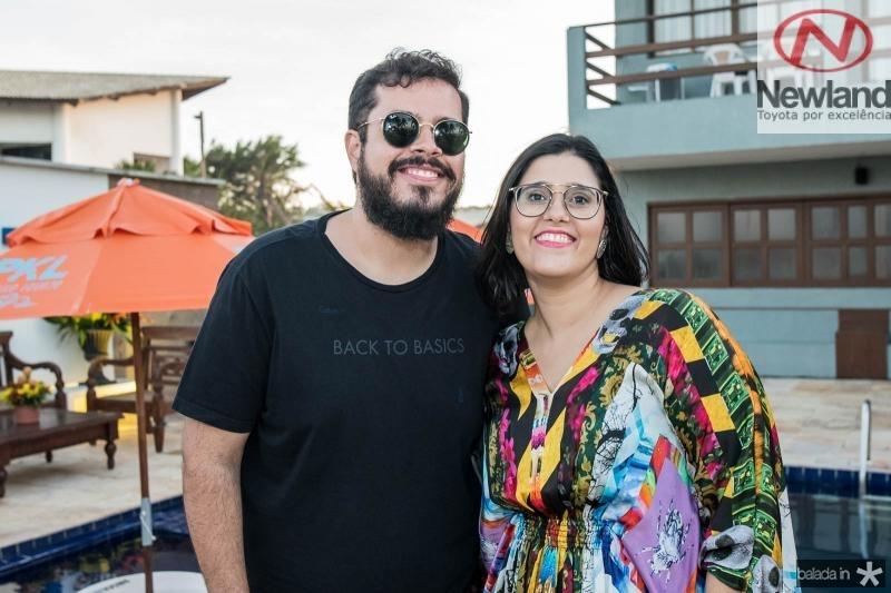 Nilo Santos e Lina Eleuterio