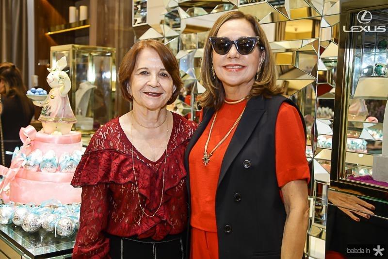 Lenita Negrao e Ana Alcantara