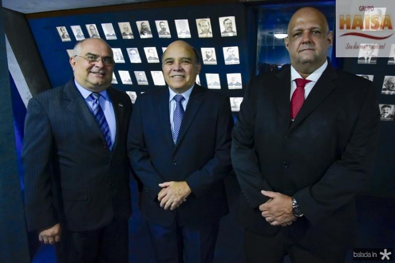 Ricardo Santiago, Bil Bizarria e Anderson Nascimento