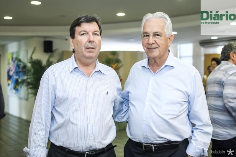 Heitor Studart e Carlos Prado
