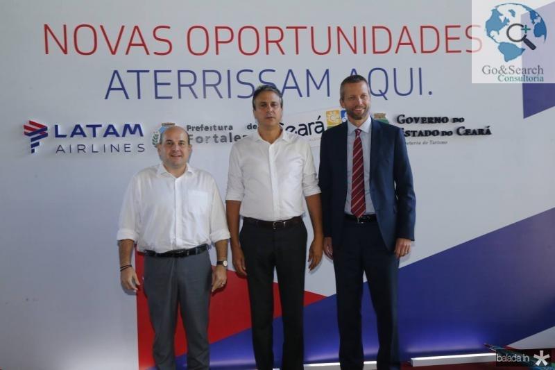 Roberto Claudio, Camilo Santana e Jerome Cardie 2