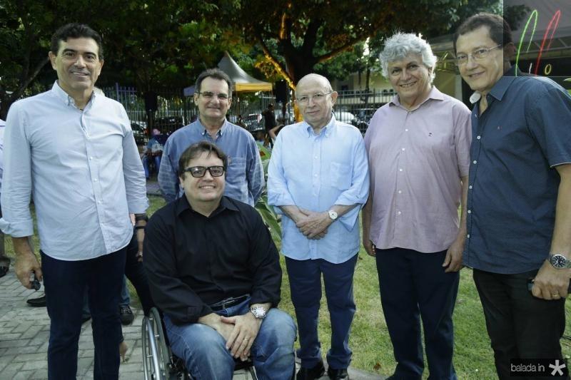 Alexandre Pereira, Emerson Damasceno, Phillip Nothingan, Roberto Claudio Bezerra, Aristides Oliveira e Elpidio Nogueira