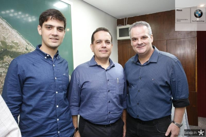 Germano Filho, Germano Belchior e Bernardo Maia