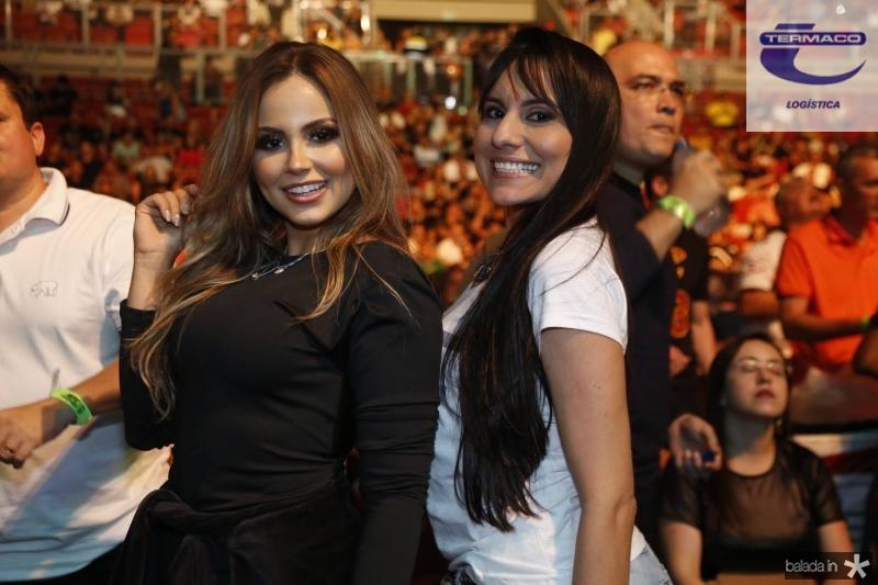Gabriela Passos e Bruna Nogueira