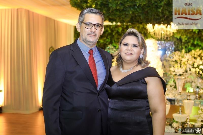 Romeu e Renata Macedo