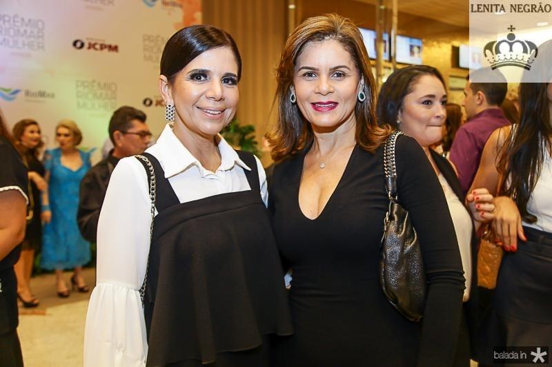 Maria Lucia Negrao e Liliana Linhares