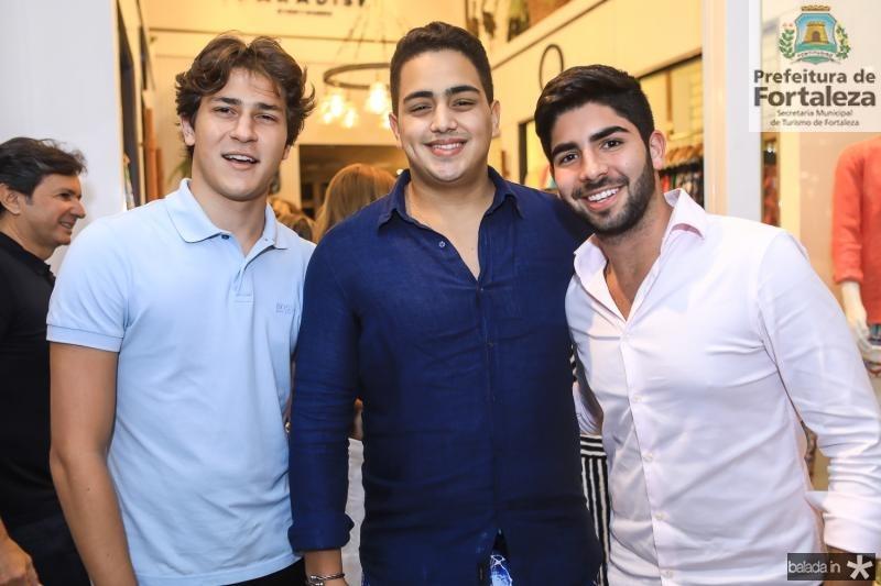 Reno Cruz, Rafael Pinto e Deib Otoch Neto