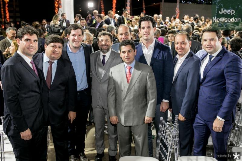 Bruno Barreira, George Lima, Rodrigo Carneiro, Elcio Batista, Joaquim Araujo, Pompeu Vasconcelos, Eduardo Carneiro, Ariston Pessoa e Leo Couto