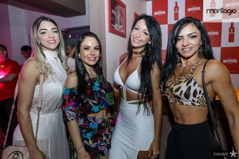 Juliana Colombo, Mariana Duol, Juliana Braga e Elenice Rang