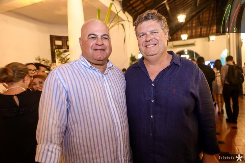 Luciano Cavalcante e Evandro Colares
