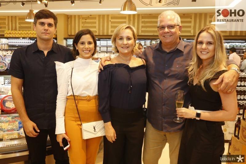 Luiz Fernando, Marina, Ana, Fernando e Ana Luiza Ramalho