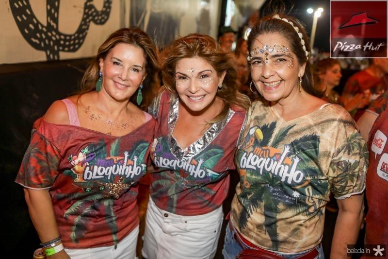 Fernanda Mattoso, Cris Lima e Giana Studart