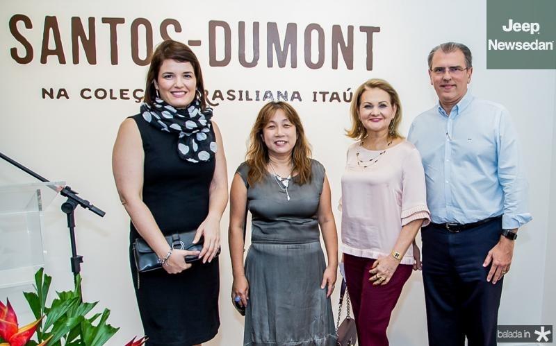 Luciana Garbin, Silvia Fan, Lenize Rocha e Randal Pompeu