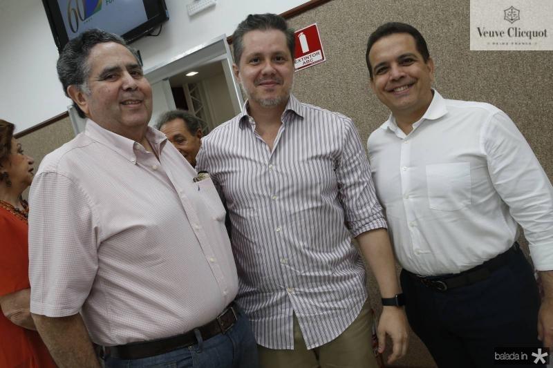 Cassiano Oliveira, Livio Parente e Germano Belchior