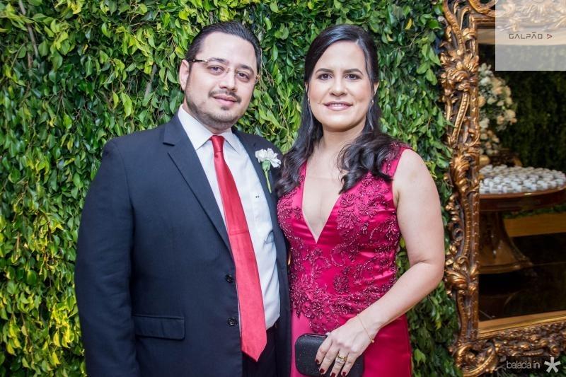 Ricardo Valente Filho e Daniela Valente