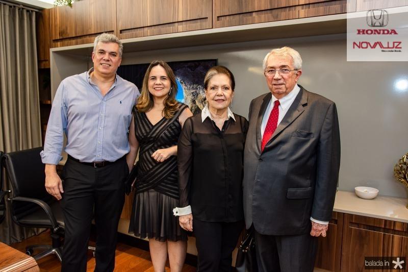 Rodrigo Macedo, Anne Macedo, Tania Macedo e Roberto Macedo