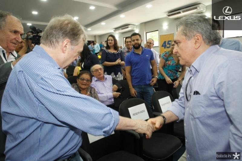 Tasso Jereissati e Luiz Pontes