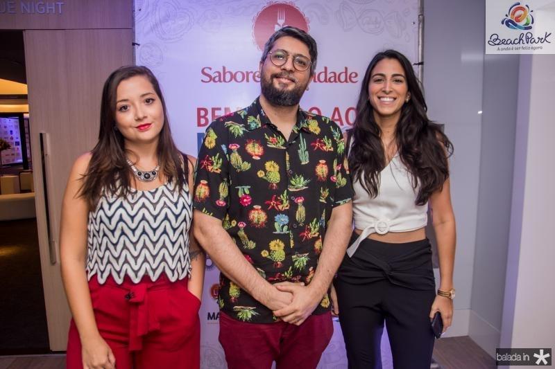 Barbara Gomes, Daniel Herculano e Marina Maporunga
