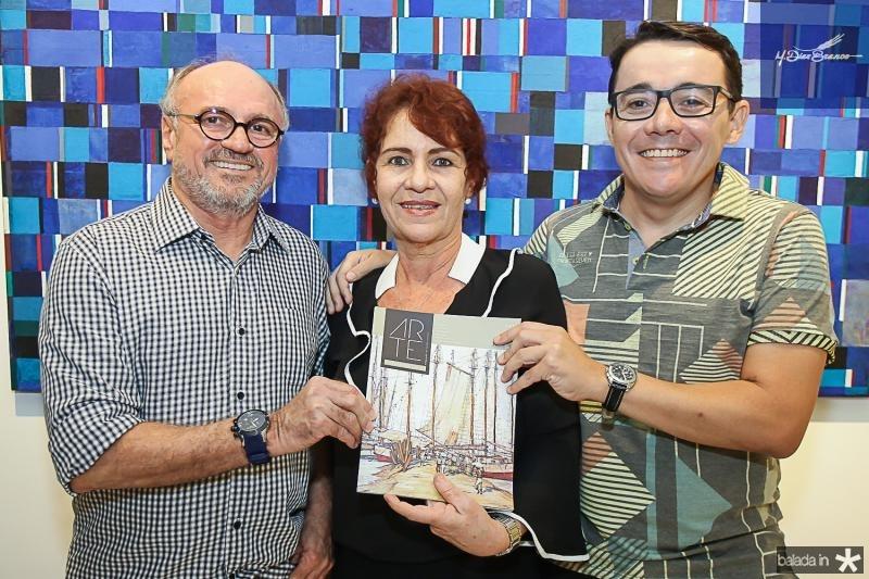Vando Figueiredo, Lilian Quindere e Junior Gomes