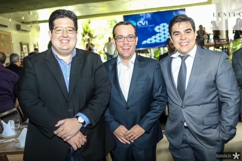 Iuri Torquato, Ivo Machado e Thiago Pinho