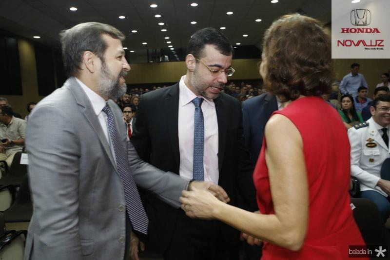 Elcio Batista, Bona Carvalho e Izolda Cela