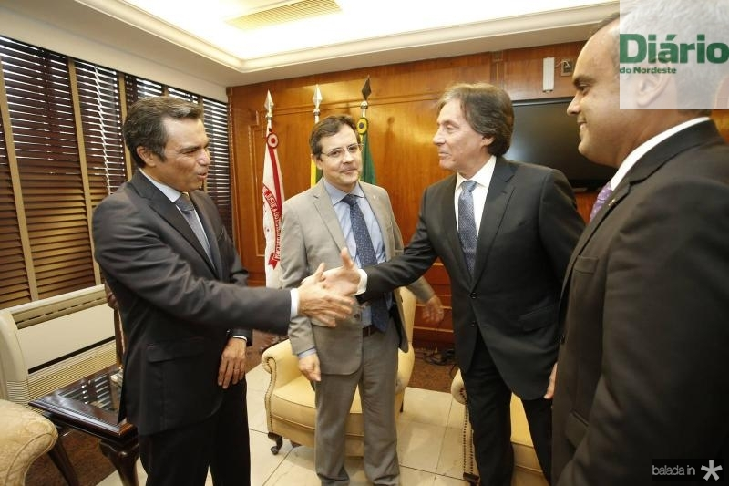 Juvencio Viana, Edilberto Pontes, Eunicio Oliveira e Marcelo Mota 1