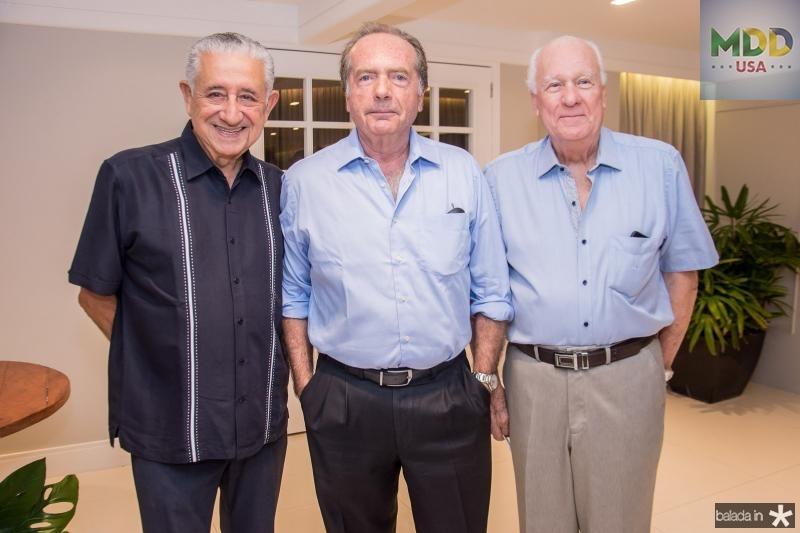Mauricio Medeiros, Hermano Franklin e Carlos Martin