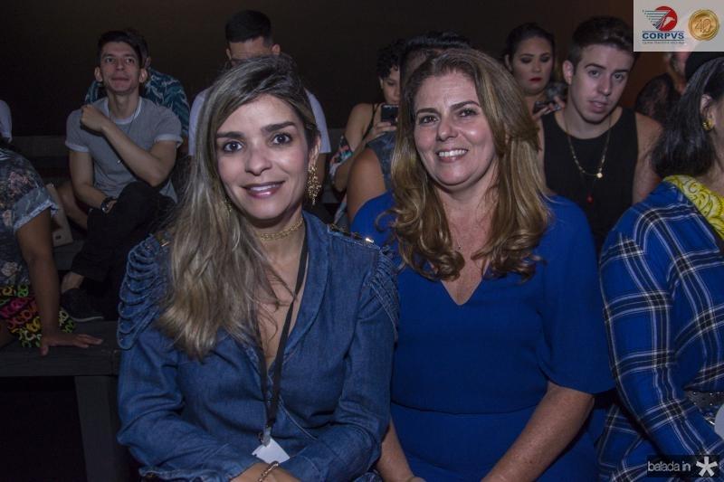Camila Arraes e Irana Melo