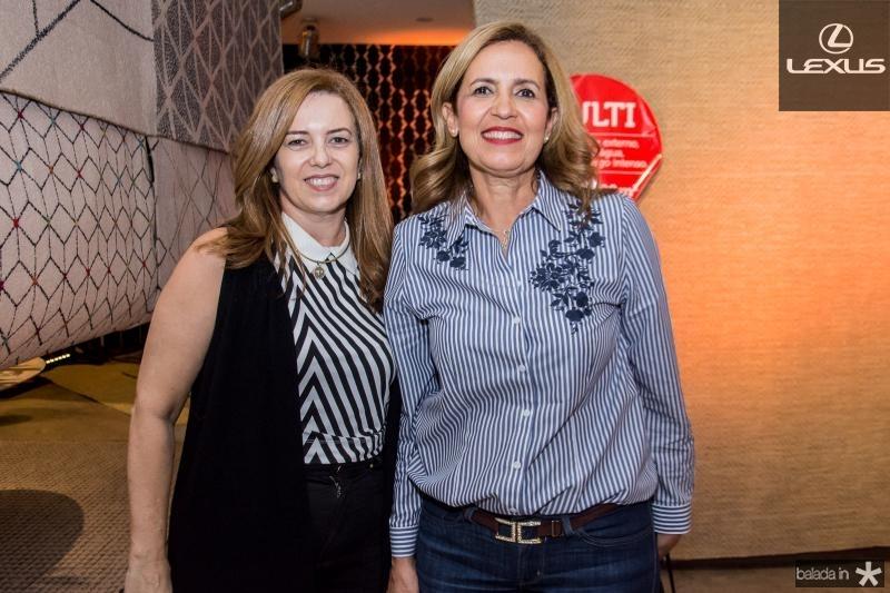 Ines Cavalcante e Viviane Cordeiro