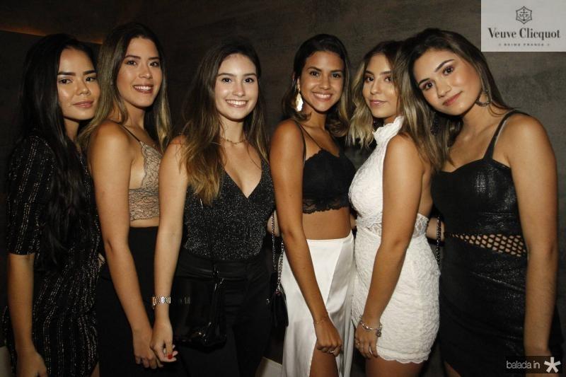 Gabriela Fagundes, Lara Mesquita, Livia Arruda, Natalia Caetano, Kauane Maia e Raquel Moreira 2