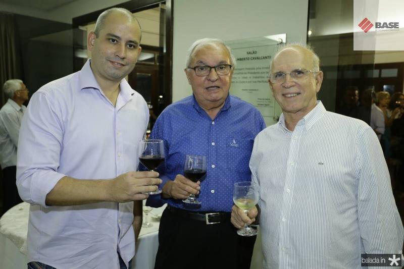 Andre Linheiro, Jose Edson e Paulo Mota