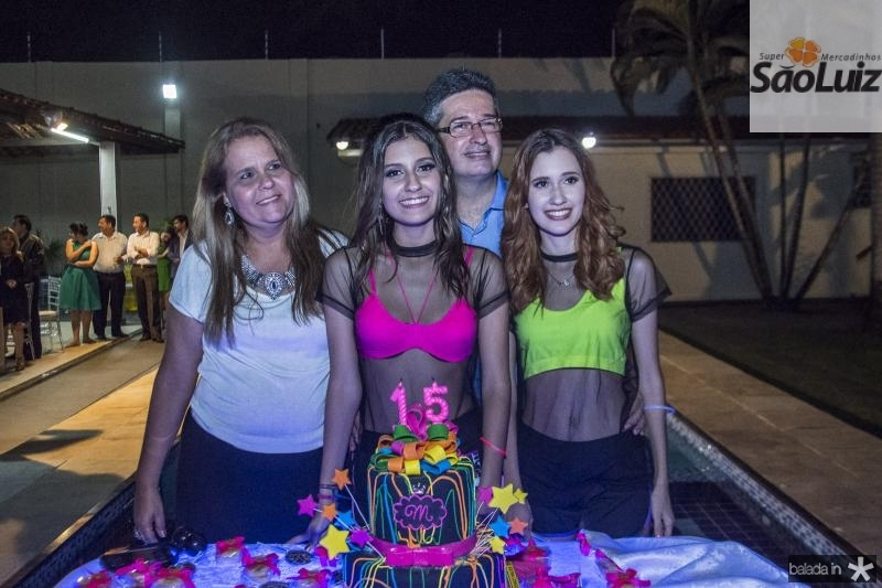 Yara, Mirella, Leonardo e Raphaella Salema