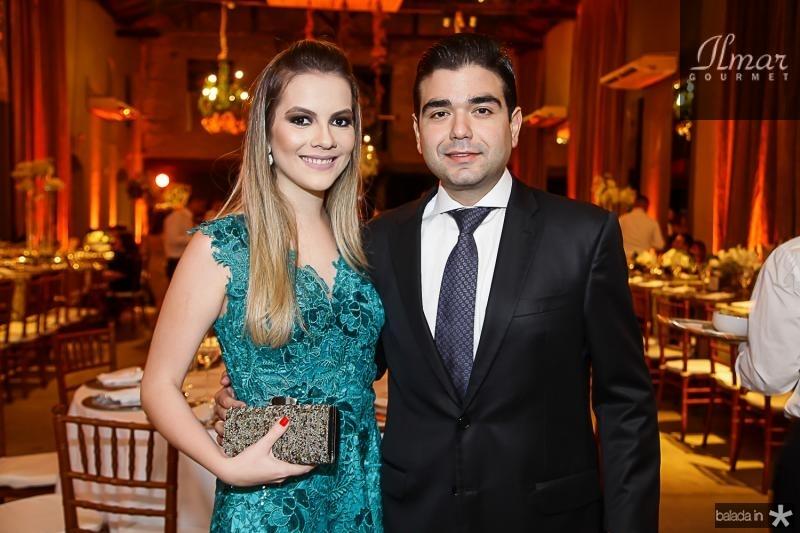 Cibelle Viana e Etenio Suleiman