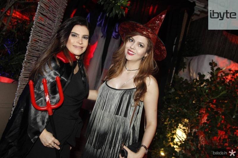 Fabiana Lustosa e Ana Flavia Torquato