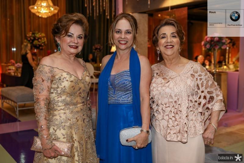 Marcia Medeiros, Marlia Lopes e Nubia Jaco