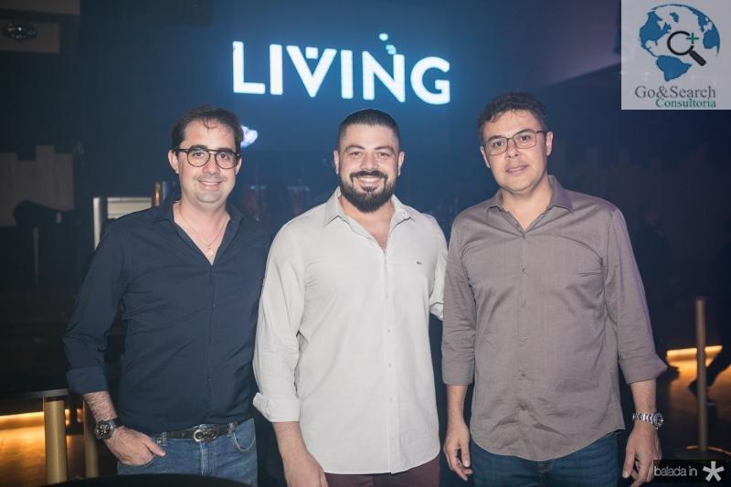 Pedro de Castro, Rodrigo Morais e Gustavo Cruz