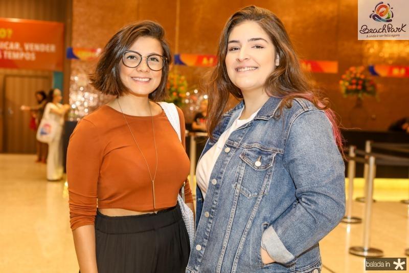 Lana Cordeiro e Gabriela Pontes
