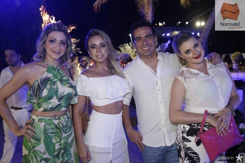 Paula Garcia, Ricelle Santos, Rodrigo Guimaraes e Marielle Donin