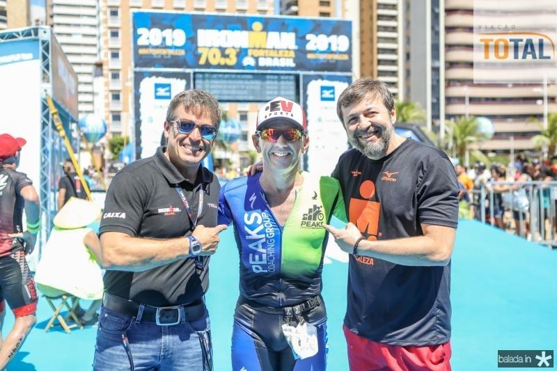 Carlos Galvao, Erick Vasconcelos e Elcio Batista