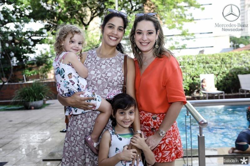 Bianca, Juliana e Melissa Batista, Silvinha Leal