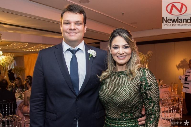 Gustavo Linhares e Iohana Braga