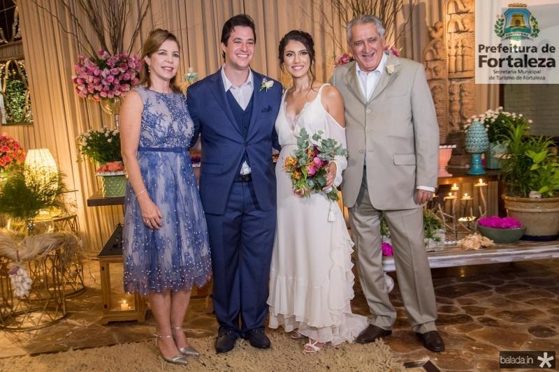 Beta Mota, Joao Cabral Filho, Carla Braga e Joao Mota