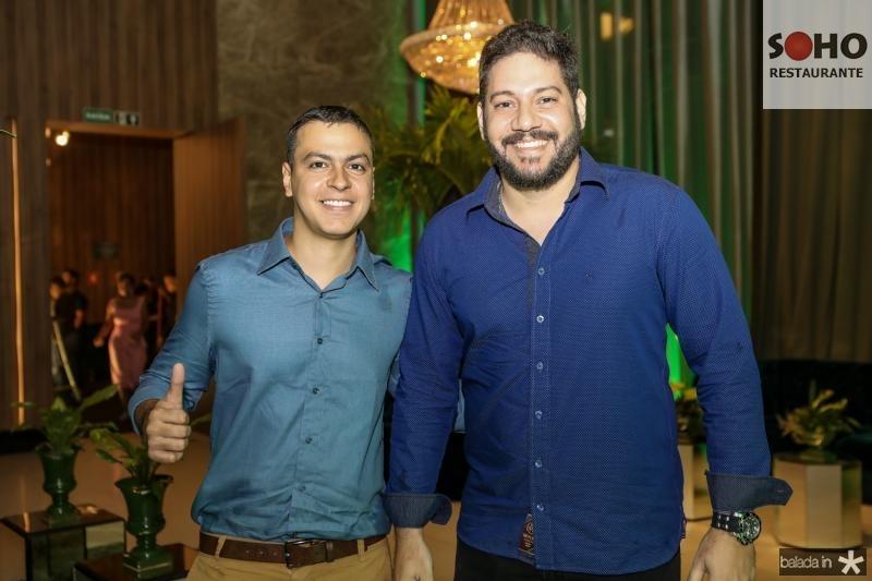 Marcos Pontes e James Monteiro